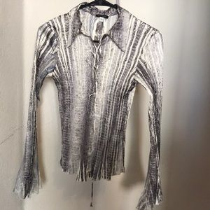 Komarov long sleeve blouse